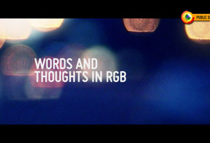 Words and Thoughts in RGB by Eduardo Morais